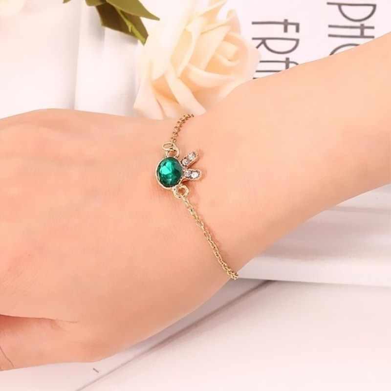 L091 2019 bijoux fantaisie perle cristal bracelets porte-bonheur & bracelets coeur étoile coquille bracelets pour femme cadeau Pulseira Feminina