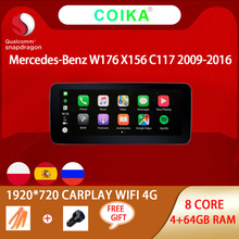 8 Core Android 10 System Car GPS Navi Stereo For Mercedes Benz A GLA W176 X156 C117 WIFI 4G Carplay 4+64GB 1920*720 Multimedia