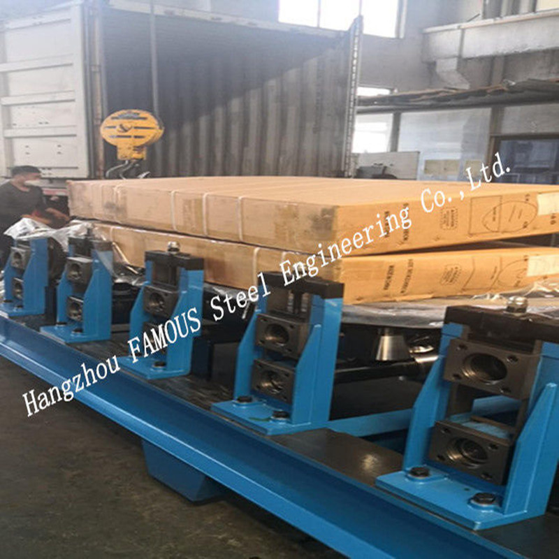 Australia New Zealand Standard Steel Structure Cold Roll Forming Machine Automatic Change C/Z Purlin