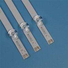 Tira de luz de fundo tv para lg 32lb550u 32lb551u 32lb5552u led strip kit retroiluminação barras para lg 32lb5561u 32lb53u lâmpadas banda led matriz