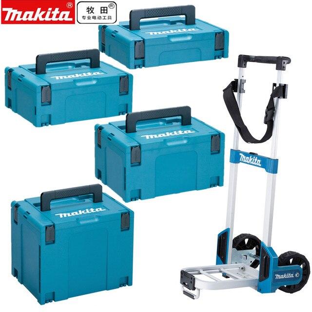 Makita caja de herramientas para maleta con conector MakPac, caja de herramientas, carro de almacenamiento, 821549 821550 5 0 821551 8 821552 6Accesorios para herramientas eléctricas
