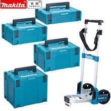Makita ferramenta caixa ferramentas mala caso makpac conector 821549 5 821550 0 821551 8 821552 6 armazenamento toolbox bandage trole