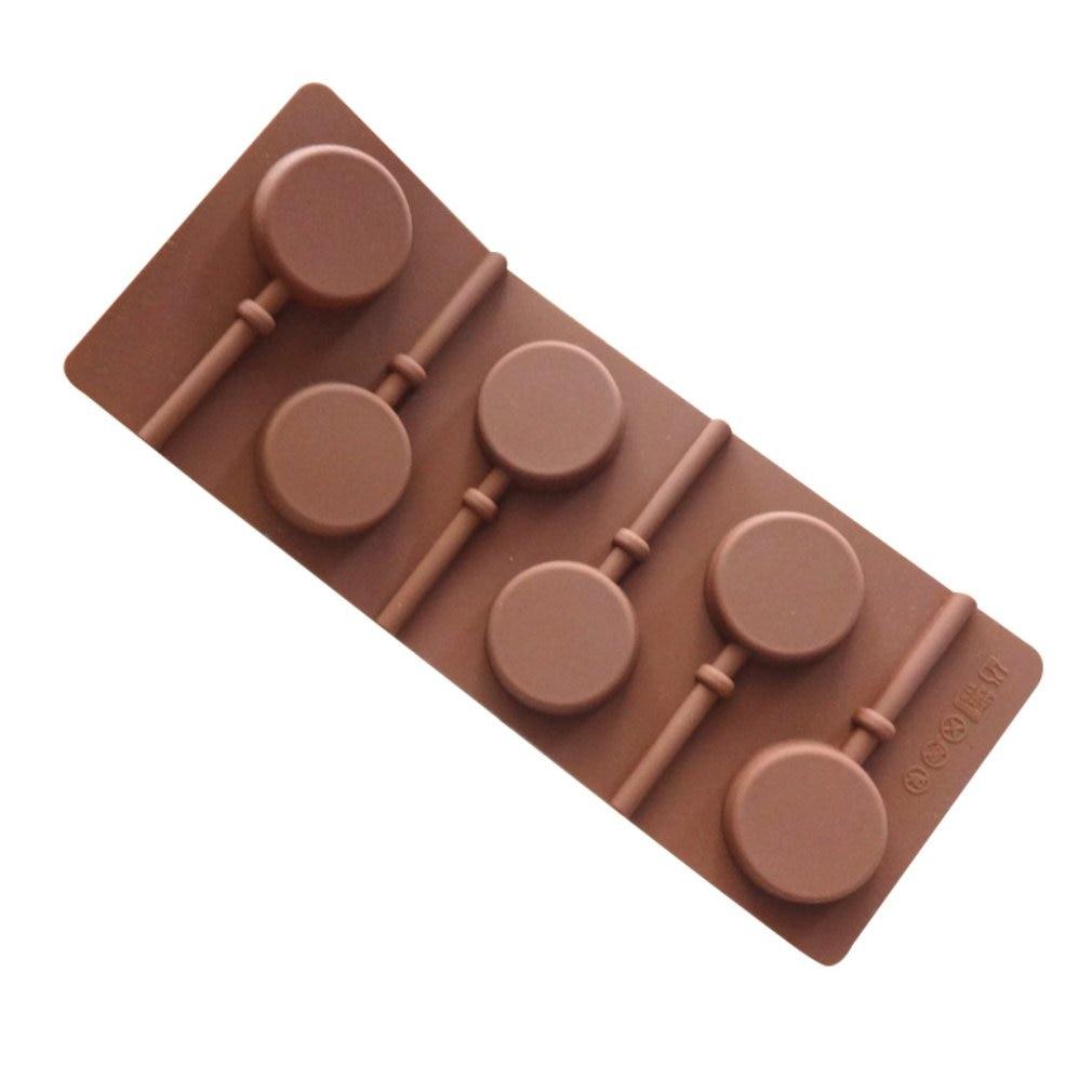 Clam Shell Sucker Lollipop Chocolate Candy Mold