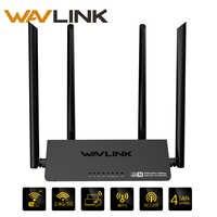 Wavlink 521R2P WiFi Router 2.4GHz 300Mbps 4x5dbi High Gain Antennas Wireless Wi-Fi Repeater Smart APP Control UK EU US AU Plug