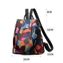 Fashion Oxford Backpacks Women Anti Theft Backpack Female Travel Small Cute Schoolbags for Girls Mochila