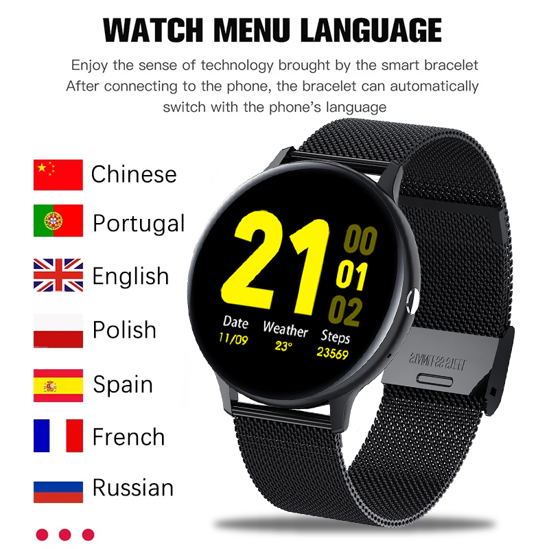 LIGE 2021 Bluetooth risposta chiamata Smart Watch uomo Full Touch Dial Call Fitness Tracker IP67 impermeabile 4G ROM Smartwatch per donna 2