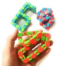 Toy Fidget-Chain Bracelet Educatiaonal-Toys Anti-Stress Adult for Children Kids Bike