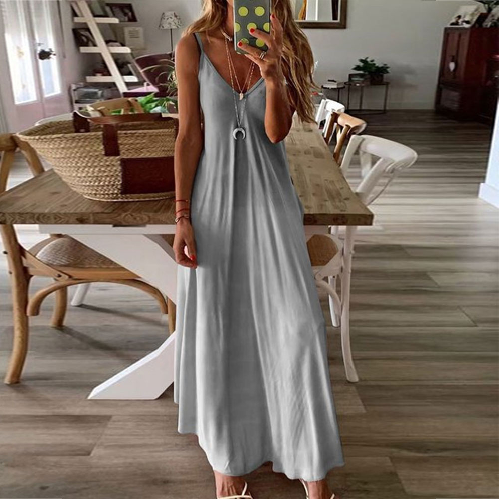 Vintage <font><b>Pink</b></font> <font><b>Blue</b></font> Sundress <font><b>Women</b></font> Summer <font><b>Dress</b></font> 2020 Boho Style <font><b>Sexy</b></font> <font><b>Dress</b></font> Midi Button Backless Striped Floral Beach <font><b>Dress</b></font> Femal image
