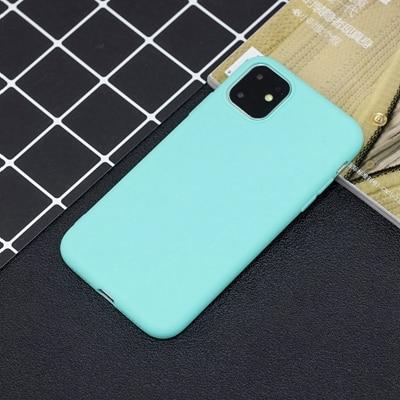 Силиконовый чехол для iPhone 11 Pro Max, чехол из мягкого ТПУ, матовый цветной чехол для телефона s, чехол для iPhone 6 7 8 Plus 6S XS Max XR X Etui - Цвет: SZ-2