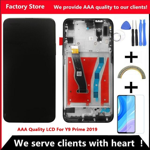"""6.59 """"AAA LCD di Qualità Per Huawei Y9 Prime 2019 LCD Screen Display Per Huawei Y9 Prime 2019 Dello Schermo LCD"""