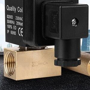 Image 5 - 1/2 дюйма Dn15 Электрический таймер автоматический водный клапан соленоид электронный сливной клапан для воздушного компрессора конденсата