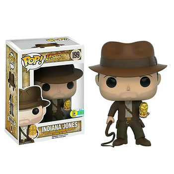 FUNKO POP Indiana Jones Action Figure Toys Raiders of the Lost Ark Movie Characters Vinyl Dolls Decoration Models for Kids Gifts 3