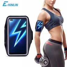 Spor Salonu Koşu Egzersiz Çantası Kılıfı Kol Bandı Realme 7 5G 6 5 3 6s 5s 7i 6i 5i 3i 2 Pro 1 Telefon Kemer Çanta Kapağı
