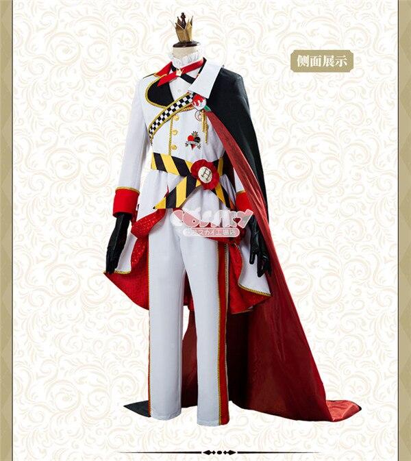 Anime jogo riddle cospaly traje alice uniforme