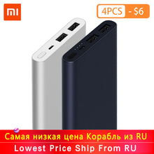 Original Xiaomi Mi Power Bank 2 10000 mAh Quick Charge 10000mAh Powerbank Supports 18W Fast Charging External Battery Pack