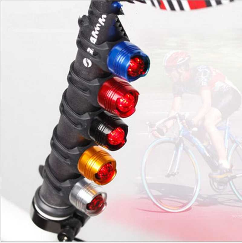 Wasafire Waterproof Bike Safety Warning Front Tail Lamp Led Torch Lamp