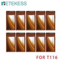 Retekess t116 sistema de chamada sem fio restaurante pager 10 pagers coaster para garçom pagers para t116|Pagers| |  -