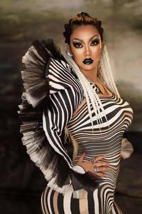 Image 3 - Yeni stil Zebra desen tulum kadın şarkıcı seksi sahne kıyafet Bar DS dans Cosplay Bodysuit kostüm balo elbise