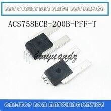 5 יח\חבילה ACS758ECB 200B PFF T ACS758ECB 200B ACS758ECB ACS758 200B חיישן הנוכחי אולם 200A הטוב ביותר באיכות