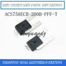 5pcs/lot ACS758ECB 200B PFF T ACS758ECB 200B ACS758ECB ACS758 200B SENSOR CURRENT HALL 200A Best quality
