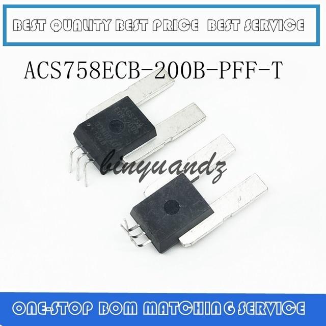 5pcs/lot ACS758ECB 200B PFF T ACS758ECB 200B ACS758ECB ACS758 200B SENSOR CURRENT HALL 200A Best quality