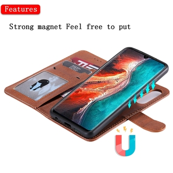 Magnetic Leather Wallet Case for Huawei P20 P30 Pro Mate 7 Mate 8 Mate 9 Flip Holder Cover for Huawei Mate 10 Mate 20 Lite Case