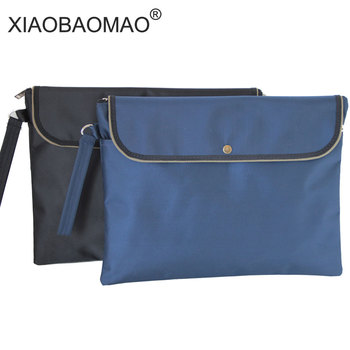 XIAOBAOMAO Business office affairs package meeting bag A4 file organizer a4 documents file bag folder xiaobaomao a4 commercial business document bag tote file folder filing meeting bags pocket office bags pocket large capacity