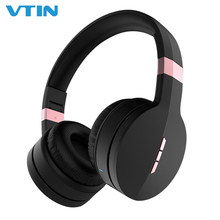 VTIN Wireless Headphone Bluetooth 5.0 TF Card Headset Foldable Over-Ear Noise Cancelling Stereo Headset Heavy Bass With Mic bluetooth headset wireless headset supports tf card mobile computer tablet heavy bass folding portable adjustable