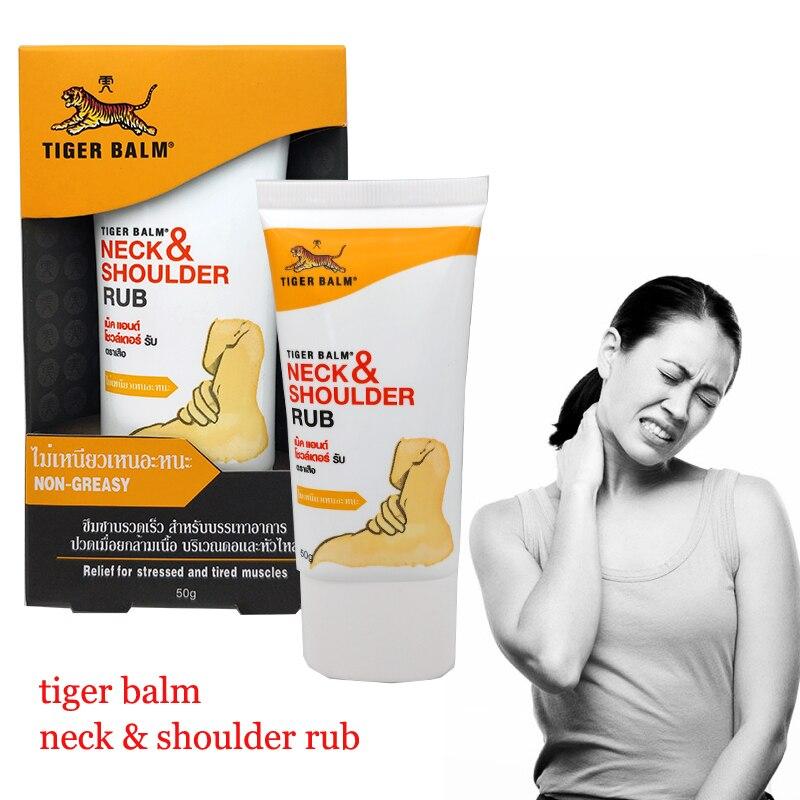 50G Tiger Balsam Reiben Nicht-Fettende Creme für Hals Schmerzen Relief Lockerung Schulter Schmerzen Relief Müde Schmerzende Stress gesundheit Pflege Gips