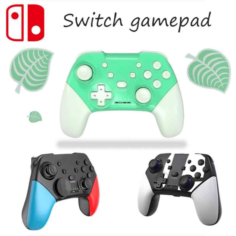 2020 New Animal Crossing Switch Pro Gamepad Wireless Controller