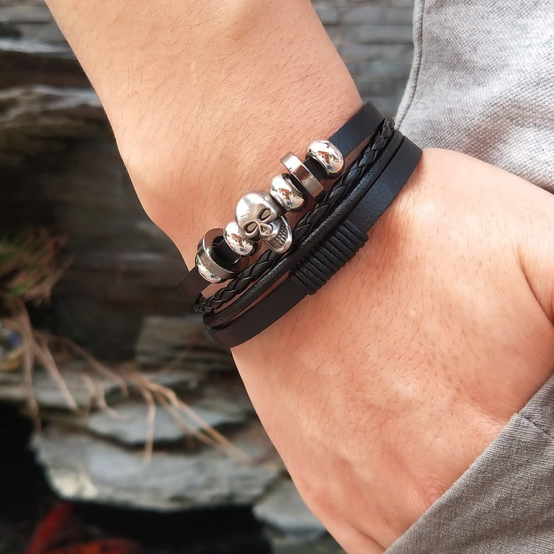 Bracelet crâne thor 2