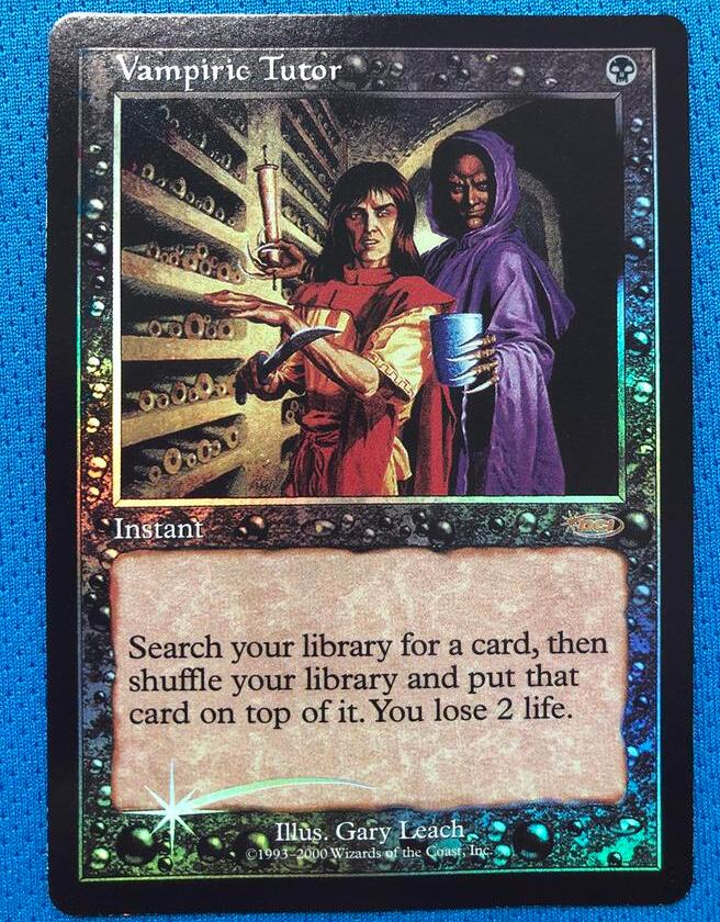 Vampiric TutorJudge Gift Cards 2000 Foil Magician ProxyKing 8.0 VIP The Proxy Cards To Gathering Every Single Mg Card.
