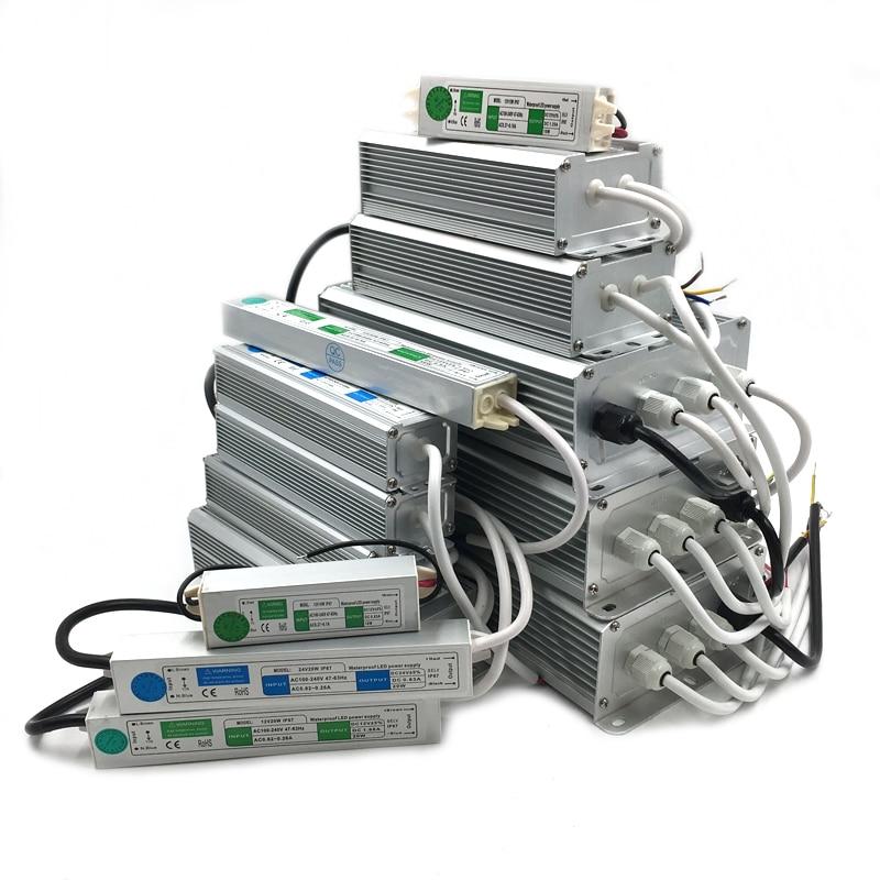 12 V Netzteil DC IP67 Wasserdichte AC DC Beleuchtung Transformatoren Netzteil 12 V Volt 10W 20W 25W 30W 45W 50W 60W 80W 120W 150W