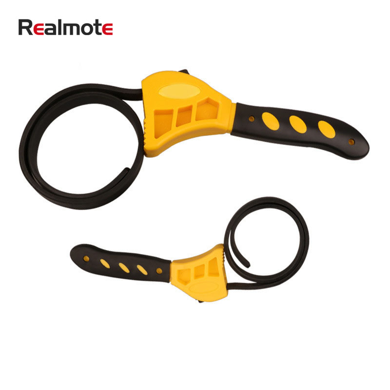 "Realmote 6/8 "" More Function Belt Plastic Wrench Adjust Bottle Opener Automobile Service Filtration Organ Can Adjust|Wrench| |  - title="