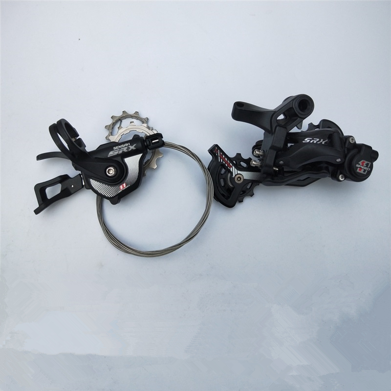Sensah MTB <font><b>11Speed</b></font> 1X11 System Shifter Rear Derailleur Groupset For Shimano xt k7 <font><b>Sram</b></font> mountain bike crankset parts 11v system image