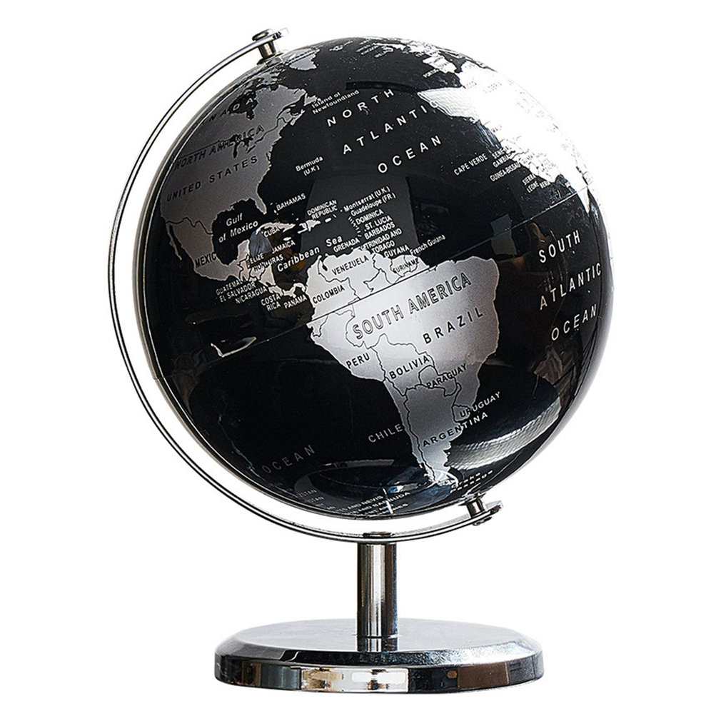 Globe Educational Geographic Modern Desk Decoration With Metal Base Bookcase Decorations Globe Children's Gift