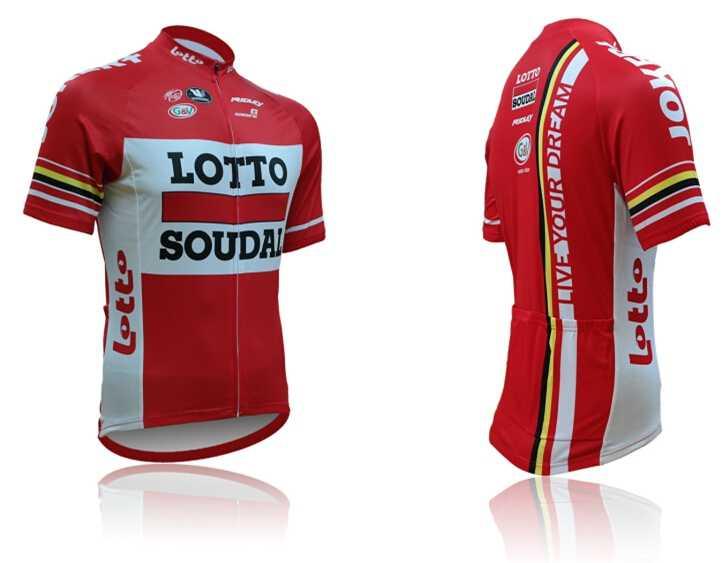 2018 Lotto 6 sztuk pełna jazda na rowerze zestaw koszulek z krótkim rękawem MTB Bike Maillot ramię nogi pokrowce na buty cieplej cap lato odzież rowerowa