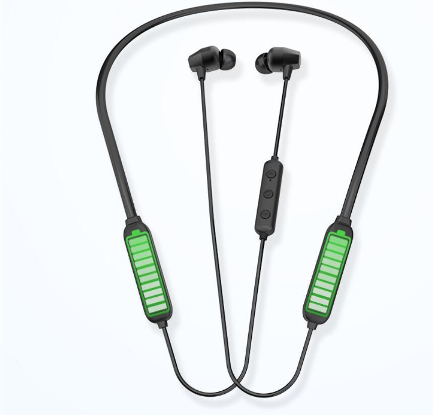 Bluetooth 5 0 Earphones Headset Sport Neckband Wireless Headphone For Iphone 8 Plus Samsung S9 S10 Huawei P0 Pro Bluetooth Earphones Headphones Aliexpress