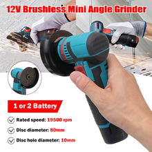 Polishing-Machine Angle-Grinder Cordless Cutter Power-Tools 12-Volt Mini Diamond