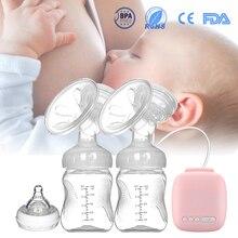 Automatic Free Electric Double Breast Pumps Manual Breast Pump Nipple Suction Breast Baby Feeding Pump Powerful Milk Sucker