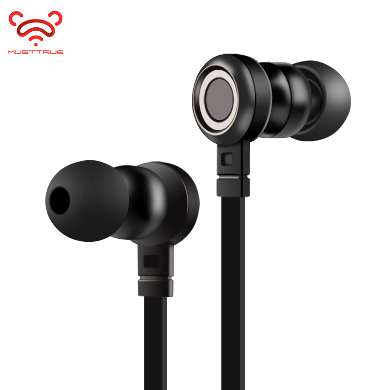 MUSTTRUE HD Hifi Earphones in Ear Sport Stereo Earbud with Mic Jack Wired Gaming Headset Auriculares for Iphone Xiaomi Samsung