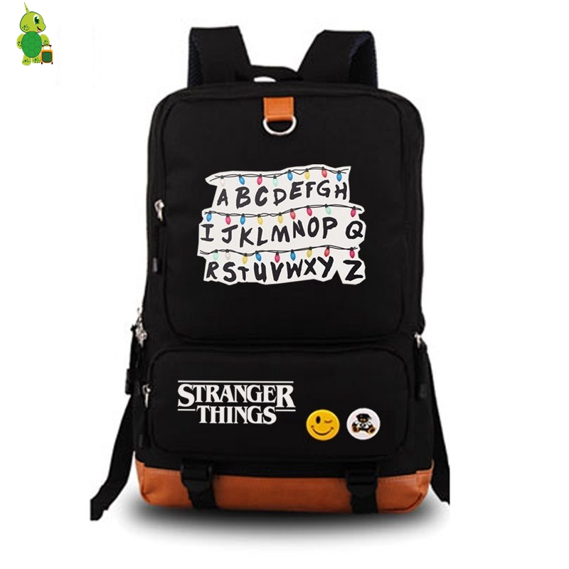 Mochila Stranger Things Backpack Women's Backpack Mens Laptop Backpack School Bags for Teenage Girls Boy's Backpack Travel Bags