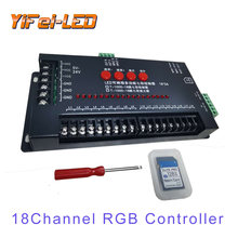 Светодиодный контроллер для 18 каналов один и 4 канала rgb