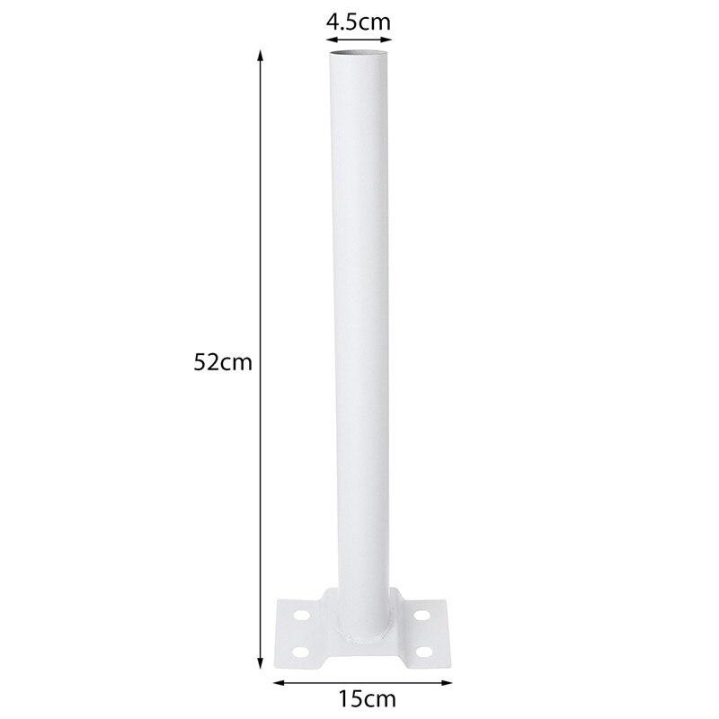 50CM Montage Licht Pol Unterstützung Halterung für LED Solar Straße Licht Sensor Außen Beleuchtung Garten Wand Lampe