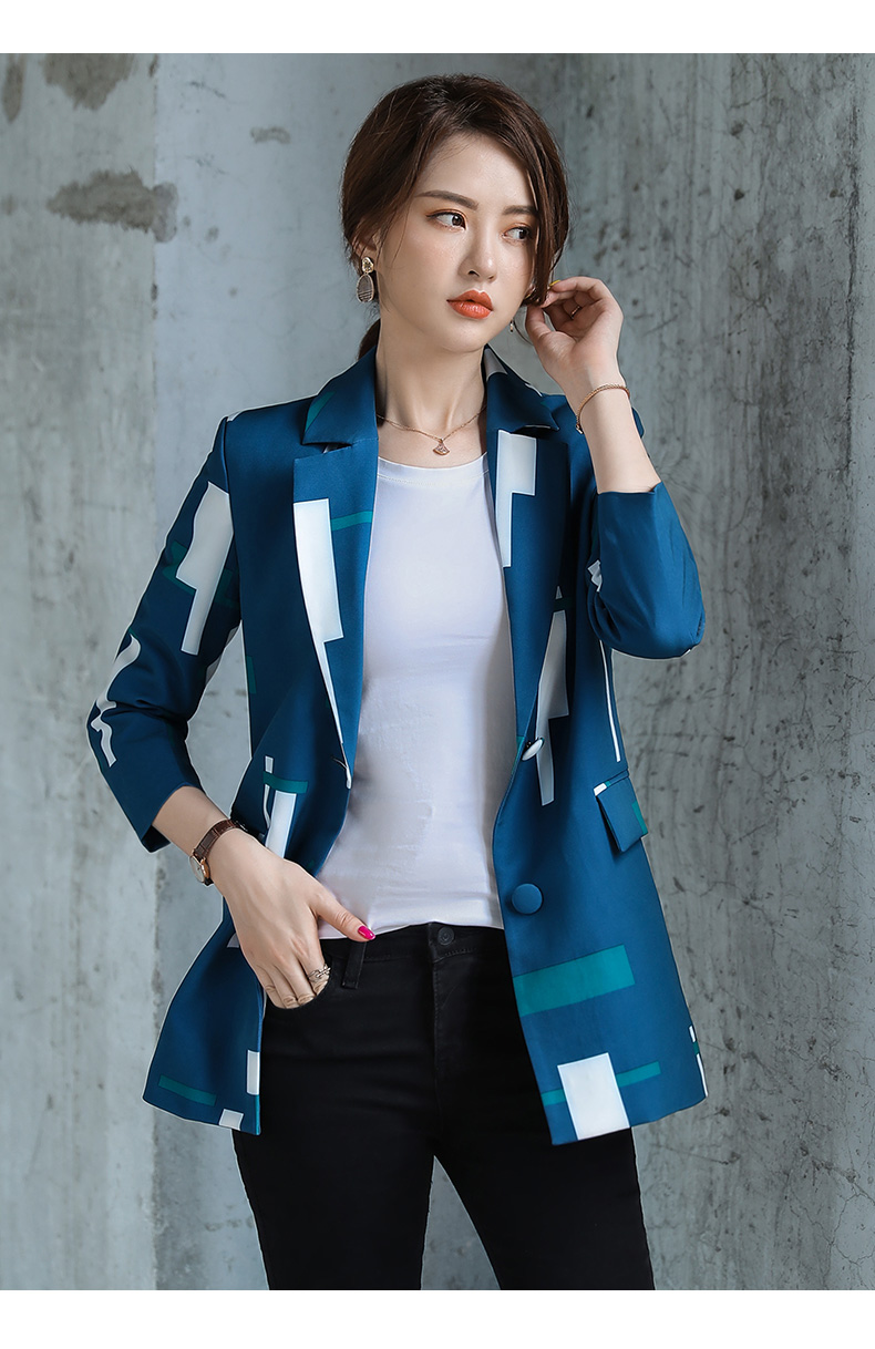 Large Size Korean Ladies Blazer Spring Green Loose Casual Suit Jacket Bayan Mont Stylish Office Spring Women's Clothing MM60NXZ