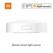 Sensor de luz inteligente Xiaomi Mijia Zigbee 3,0, detección de luz, conexión inteligente, resistente al agua, utilizado con puerta de enlace inteligente multimodo