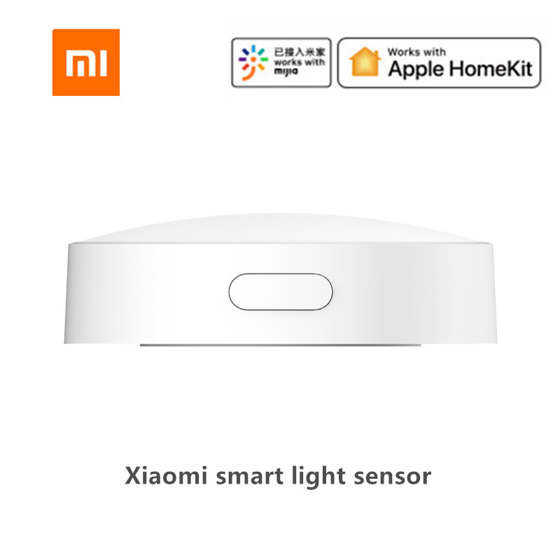 Xiaomi Mijia Smart Light Sensor Zigbee 3 0 Light Detection Intelligent Linkage Waterproof Used With Smart Multi-mode Gateway