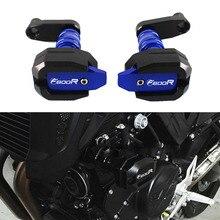 אופנוע נופל הגנה עבור BMW F800R F800 R F 800R 2014 2015 2016 CNC מסגרת Slider Fairing משמר אנטי התרסקות כרית מגן