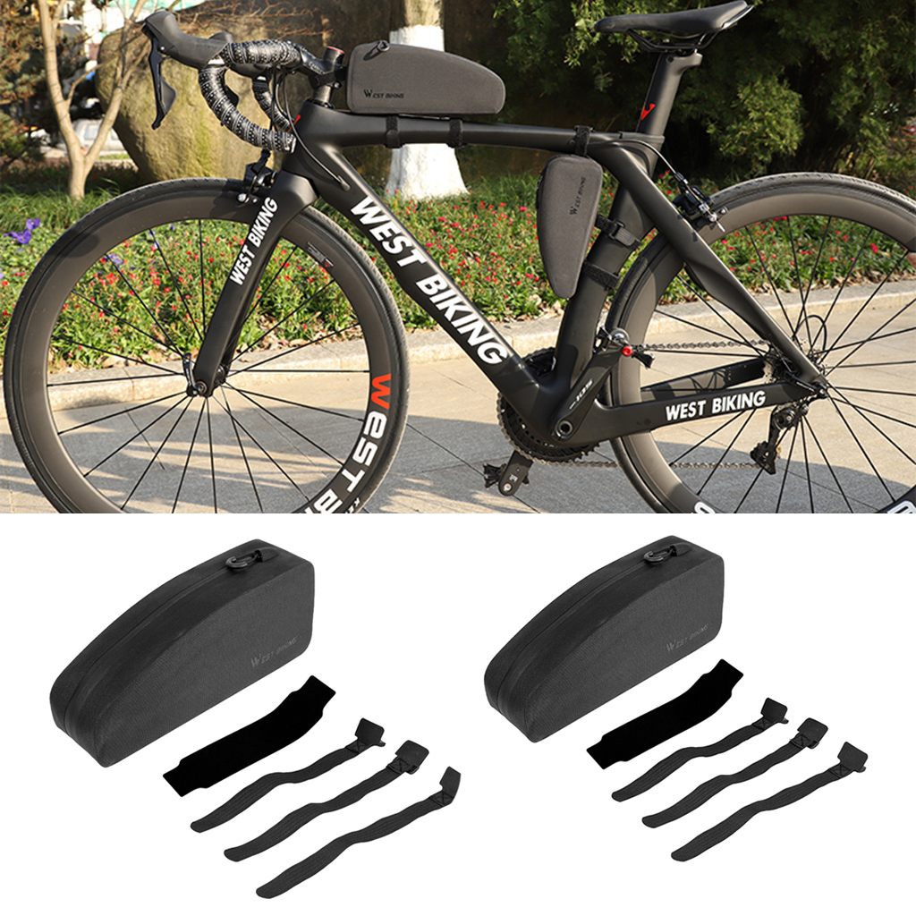 Bicycle-Frame-Bag Case Phone-Pouch-Holder Front-Tube Cycling-Mountain-Bike Triangle Waterproof