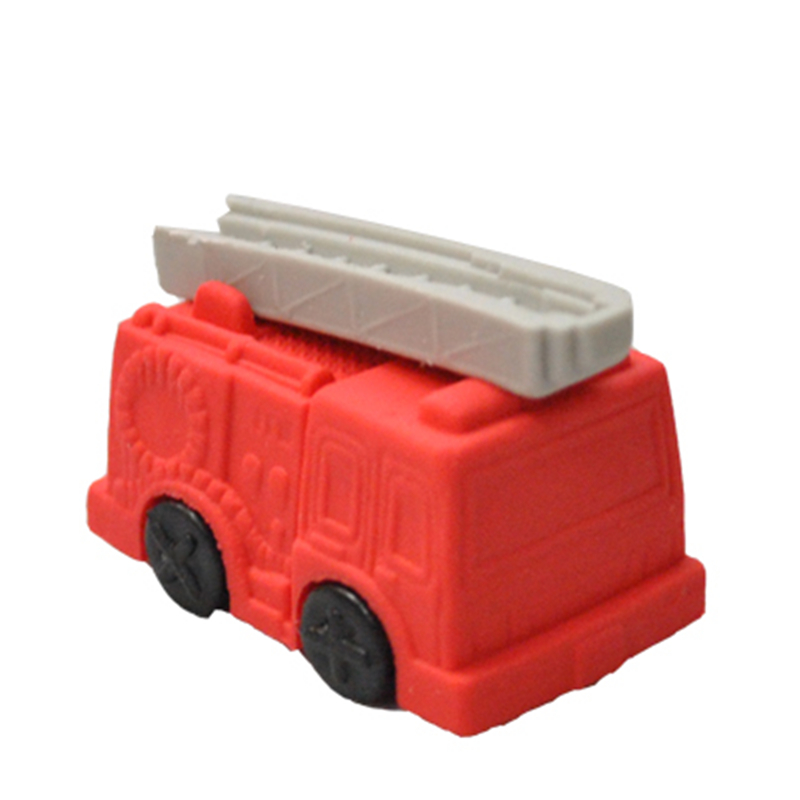 Freeshipping  lovely wholesale Transport eraser/ Fire Engine Eraser/Bulldozer Eraser/Truck eraser MOQ 18 pieces per lot
